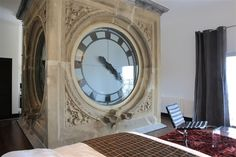 Room with a view and a giant bedside clock - Look what I bought  Molly   Voris