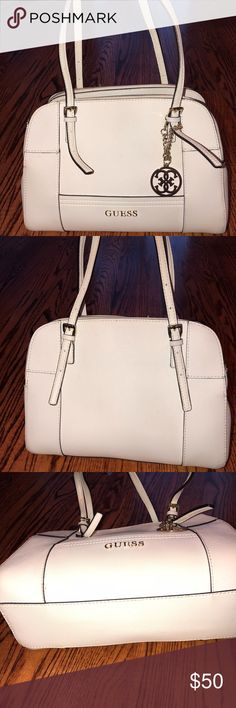 GUESS purse! Some signs of wear, not much. Worn for several months. Authentic Guess Bags Shoulder Bags