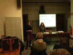 Ieri a #Firenze Valeria Vitali di #Retedeldono con Centrale Etica per il workshop sul #crowdfunding e #personalfundraising