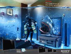 SONY 3D TV by illuphotomax.deviantart.com on @deviantART