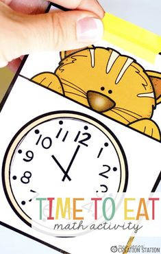 "A lot of the time, kids ask the question, ""What time is it?"". Time is not always an easy concept for little learners to understand. Here is a fun, free printable to help you teach your students how to tell time. There are some suggestions included as to how to best use these free printables and how to teach your kids how to tell time. #time #teach #kids #learning #free #printable"