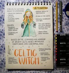 For Celtic Witches, Magick is everywhere 💚✨ Are you a Celtic Witch? Magick Spells, Wiccan Witch, Wicca Witchcraft, Witchcraft History, Celtic Paganism, Celtic Druids, Grimoire Book, Witchcraft For Beginners, Witch Tattoo