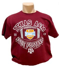 Yea that's right. The Aggies won the cotton bowl :)