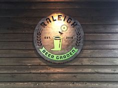 The Raleigh Beer Garden: world record holder for most beers on tap (366!). Located in downtown Raleigh, N.C.