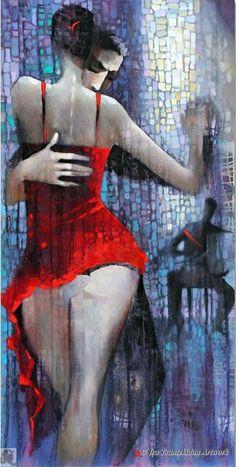Tango Roxanne by Ira Tsantekidou. #dance
