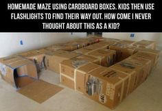 box maze - awesome fun!