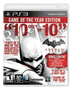 Platform: PlayStation 3 Developed by Rocksteady Studios, Batman: Arkham City builds upon the intense, atmospheric foundation of Batman: Arkham Asylum, sending players soaring into Arkham City, the … Batman Arkham City Ps3, Ps3 For Sale, Batman Year One, Arkham Games, Ps3 Games, B 13, Arkham Asylum, Gotham City, Places