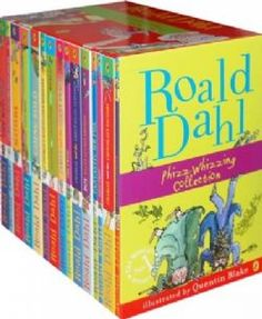 Roald Dahl 15 Book Box Set - essential bedtime reading for Nina Roald Dahl Stories, Roald Dahl Books, Roald Dahl Box Set, Roald Dahl Collection, Book Collection, Popular Kids Books, Georges Marvellous Medicine, James And Giant Peach, The Twits