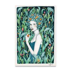 Selva by Sofia Bonati – Eyes On Walls Sofia Bonati, Arte Popular, People Art, Portrait Art, Portraits, Illustrations And Posters, Graphic Illustration, New Art, Art Inspo