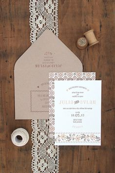 Flat, portrait, Neutral Wedding #wedding invitations & wedding stationery ... Wedding ideas for brides, grooms, parents & planners ... https://itunes.apple.com/us/app/the-gold-wedding-planner/id498112599?ls=1=8 … plus how to organise an entire wedding ♥ The Gold Wedding Planner iPhone App ♥