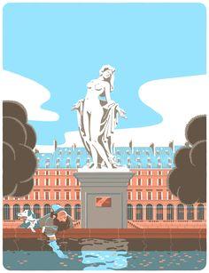 The Parisianer by Vincent Mahé, via Behance