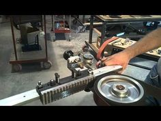 ▶ Wuertz Machine Works Surface Grinding Attachment video 2 - YouTube