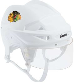 Franklin NHL Hockey Chicago Blackhawks Mini Player Helmet