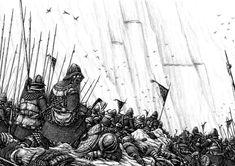 Battle of Nanduhirion, part 3 by Tulikoura.deviantart.com on @deviantART