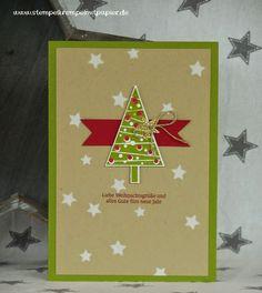 Stempelkrempel mit Papier by Annies Stempelstübchen Christmas card