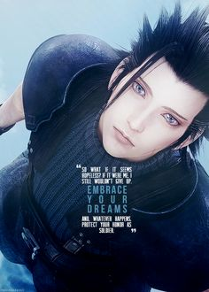 Zack Fair Final Fantasy: Crisis Core