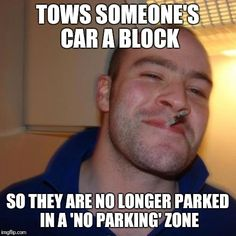 Good Guy Tow Truck Driver