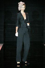 Armani Prive Осень 2005 Couture Collection - Vogue