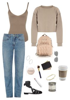 """Jasmine"" by koahlakid ❤ liked on Polyvore featuring WearAll, Helmut Lang, My Mum Made It, Miu Miu, Yves Saint Laurent, Le Labo, Estée Lauder, Royce Leather and Cartier"