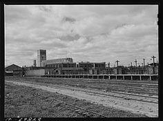 Stockyards and flour mill. Wichita, Kansas 1941