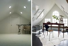 6 Astounding Useful Ideas: Attic Wood Couch attic loft library.Attic Before And After Stairs finished attic bed nook. Garage Attic, Attic House, Attic Loft, Attic Stairs, Attic Rooms, Attic Playroom, Attic Apartment, Attic Renovation, Attic Remodel