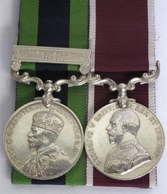 Lot 502 – British Indian General Service – Vintage Toys and Militaria 08 Jan 2014 SOLD for £90 http://www.candtauctions.co.uk/