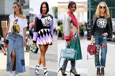 Spring-Summer 2017 street fashion trends