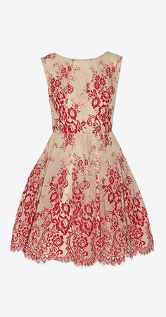 Fila tulle and lace mini dress