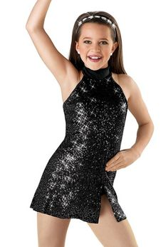 Weissman™ | Jazzy Sequin Halter Dress