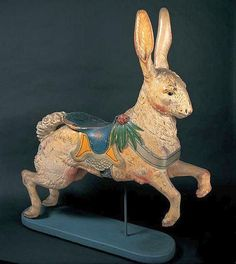 Old Carousel Rabbit.