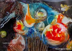Global warming - sold Wales Uk, Encaustic Art, Texture Art, Global Warming, Mixed Media, Wax, Layers, Studio, Abstract