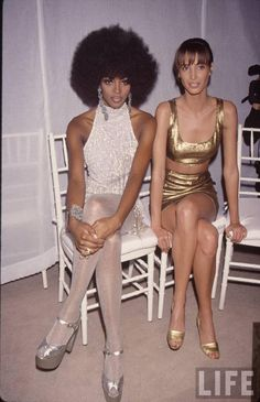 Naomi Campbell & Christy Turlington