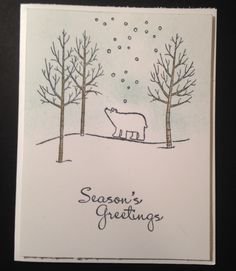 August 06, 2014 Stamping With Tamie:  White christmas