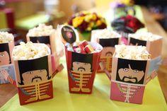 Beatles Popcorn Box