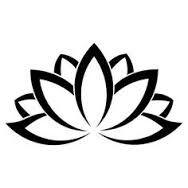 simple llotus flower design - Google Search