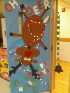 Danyel christmas door