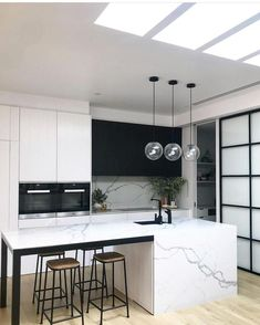 Supreme Kitchen Remodeling Choosing Your New Kitchen Countertops Ideas. Mind Blowing Kitchen Remodeling Choosing Your New Kitchen Countertops Ideas. Kitchen Doors, New Kitchen, Kitchen Ideas, The Block Kitchen, Kitchen Pantries, Cozy Kitchen, Kitchen Small, Black Kitchens, Home Kitchens