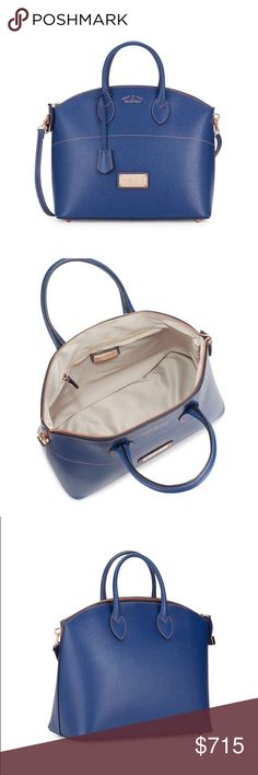 """NWT Valentino by Mario Valentino Bravia Saffiano Nwt Valentino by Mario Valentino Bravia Saffiano Leather Satchel. Top handle 6"""" drop. Removable adjustible shoulder strap 16"""" to 22"""". Top zip closure. Fully lined. Dust bag, 1 week to ship Mario Valentino Bags Satchels"""