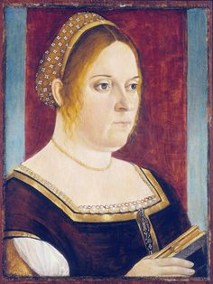Vittore Carpaccio - Portrait of a woman with book by petrus.agricola, via Flickr