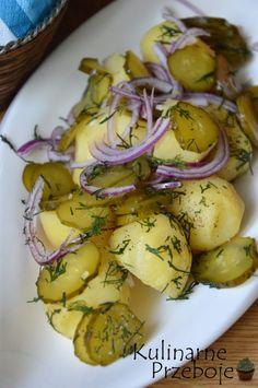 Sałatka na grilla z młodych ziemniaków - KulinarnePrzeboje.pl