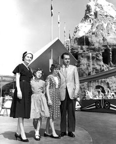 Richard Nixon and family