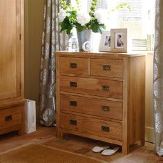 Salisbury Petite Oak 2 3 Chest 596.082 Quality wooden furniture at great low prices from PineSolutions.co.uk. Get Free Delivery and Exchanges on all orders. http://www.MightGet.com/january-2017-11/salisbury-petite-oak-2 3-chest-596-082.asp