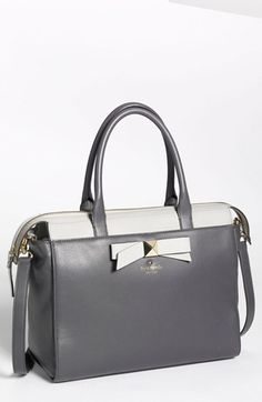 kate spade new york 'hancock park - jeanne' leather satchel, medium