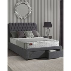 Found it at Wayfair.co.uk - Dante Upholstered Storage Bed