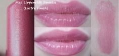 Mac lipstick Sweetie Mac Lipstick Swatches, Mac Lipsticks, Mac Lipstick Collection, Beauty Hacks, Beauty Stuff, Beauty Tips, Covergirl, Mac Cosmetics, Makeup Looks