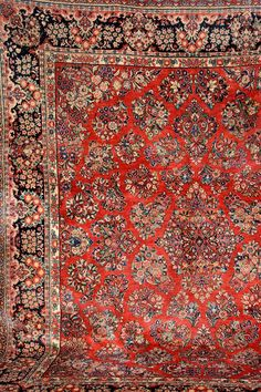 Saruk, Persia, circa 1940, wool/cotton, approx. 362 x 306 cm
