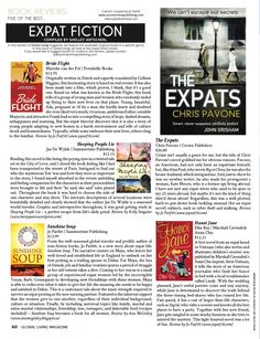 Expat Book Reviews: Fiction : Global Living Magazine  New Issue Available -- Download the Global Living App from your app store now!