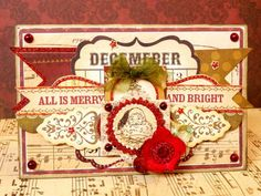 All Is Merry and Bright - Old MME paper collection