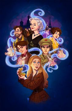 """kendyllromine: """"This was a piece I did a few months back based on the new Broadway production of Anastasia! It was commissioned by one of the producers as an opening night gift for the cast and crew; I have always been a huge fan of the movie, so it. Disney Pixar, Arte Disney, Disney And Dreamworks, Disney Movies, Disney Nerd, Disney Princess, Anastasia Broadway, Anastasia Movie, Anastasia Musical"""