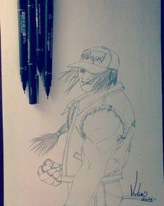 Desenho finalizado STREET FIGHTER